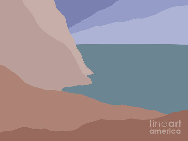 Painting - Headlands 3 by Henry Manning