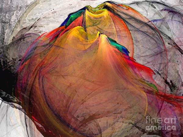 Digital Art - Headless-abstract Art by Karin Kuhlmann