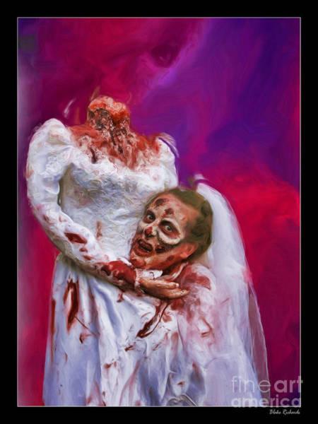 Photograph - Headless Bride by Blake Richards