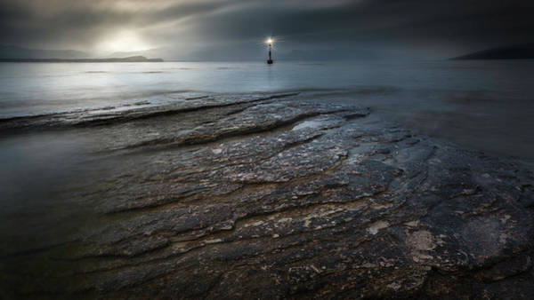 Lake Shore Wall Art - Photograph - Headlights by Luca Rebustini