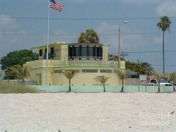 Photograph - Headquarters Beach Patrol by Ronda Douglas