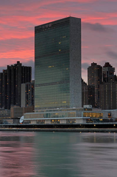 Photograph - Headquarters Of The United Nations by Juergen Roth