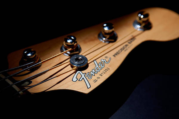 Photograph - Headstock by Peter Tellone