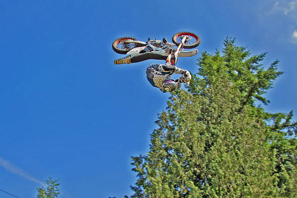 Dirtbike Photograph - Heal Clicker by Brad Walters