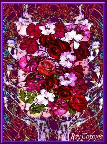 Mixed Media - Healing Flowers For You by Ray Tapajna