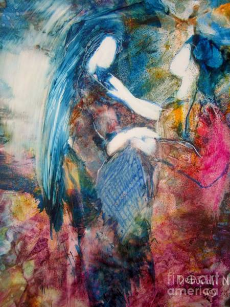 Painting - Healing Touch by Deborah Nell