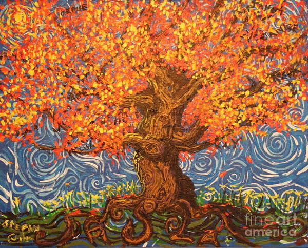 Healthy At Home Tree Art Print