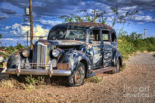 Photograph - Hearse No More by Eddie Yerkish