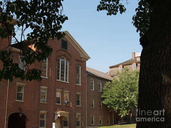 Lehigh University Wall Art - Photograph - Hearst Hall  -  Moravian College by Anna Lisa Yoder
