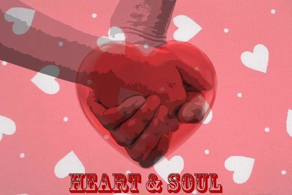I Love You Mixed Media - Heart And Soul by Dan Sproul