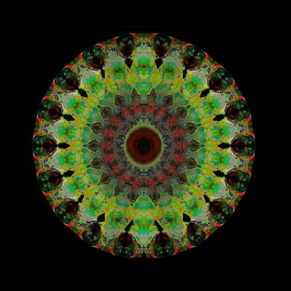 Sacred Heart Wall Art - Painting - Heart Aura - Mandala Art By Sharon Cummings by Sharon Cummings