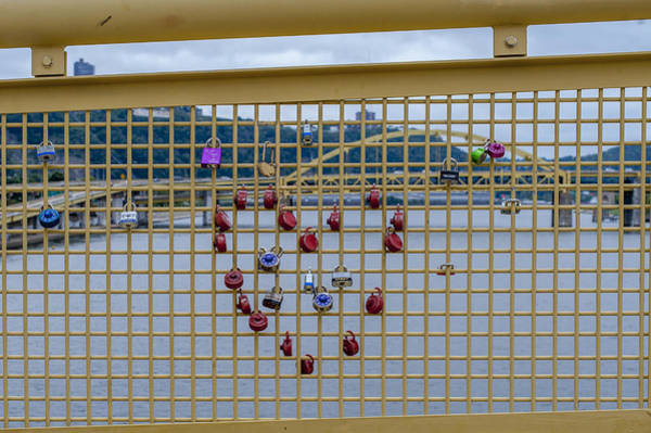 Photograph - Heart Bridge Pittsburgh Pa by Terry DeLuco