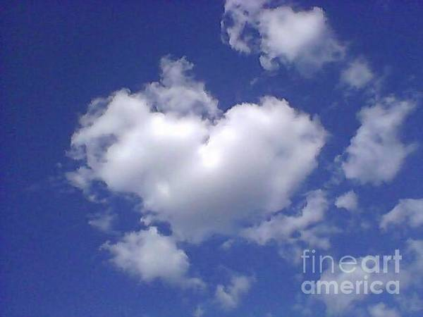 Photograph - Heart Cloud by Catherine Lott