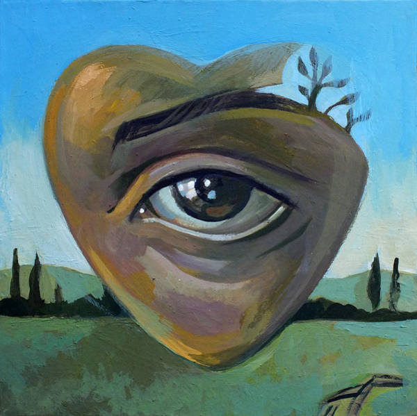 Eyeballs Painting - heART by Filip Mihail