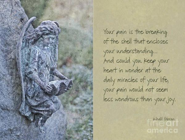 Cementery Photograph - Heart In Wonder by Maria Ismanah Schulze-Vorberg