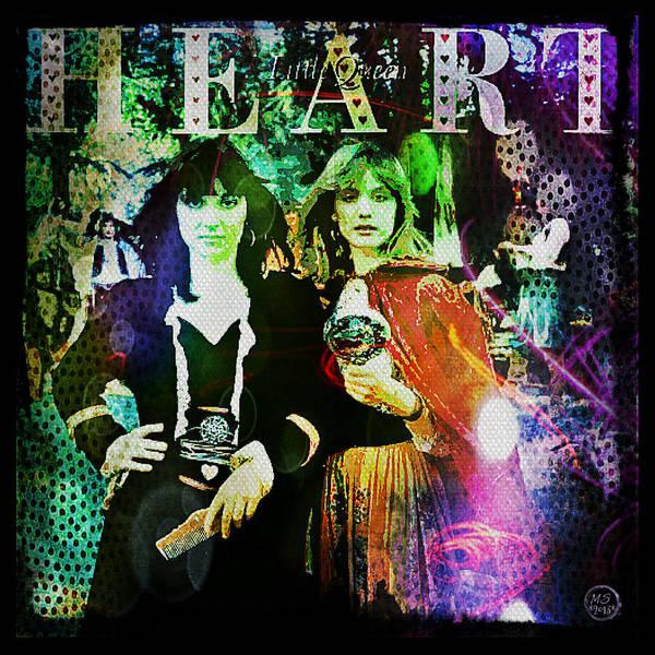 Wall Art - Digital Art - Heart Little Queen - Cover Art Design by Absinthe Art By Michelle LeAnn Scott