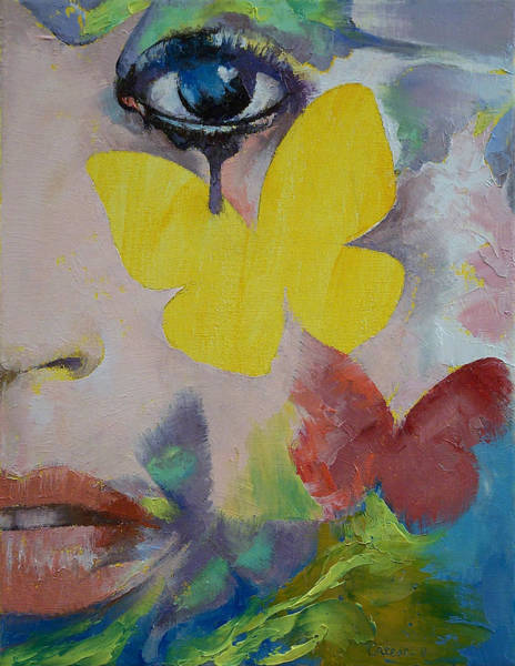 Frau Painting - Heart Obscured By The Moon by Michael Creese