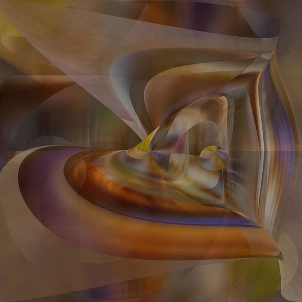 Digital Art - Heart Of Matter by rd Erickson