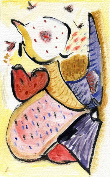 Painting - Heart Of Mine by Stephen Lucas