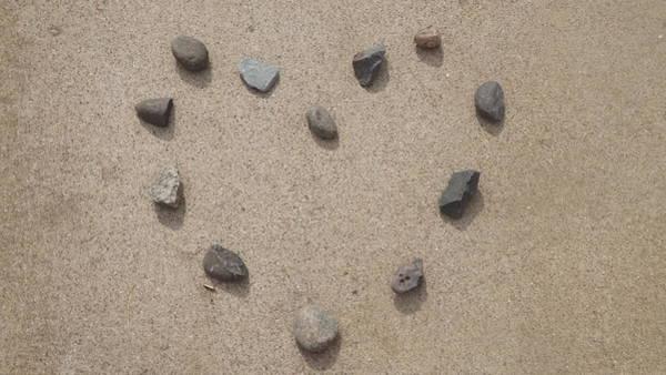 Heart Of Stone Art Print