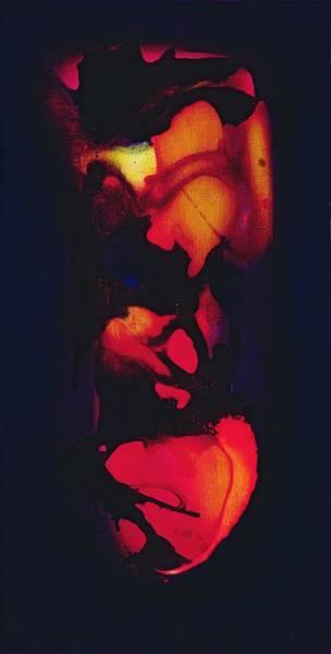 Pulse Photograph - Heart Oil On Canvas by Jane Deakin