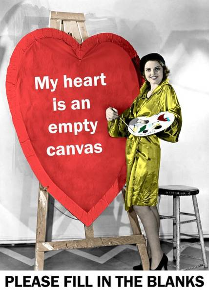 He 219 Wall Art - Photograph - Heart Shaped Canvas Greeting Card by Everett