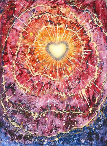 Potential Painting - Heart Source by Melinda DeMent