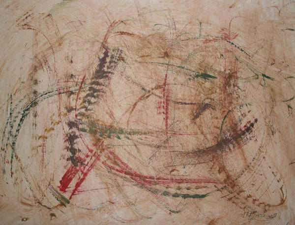 Painting - Heart Tracks by Marian Palucci-Lonzetta