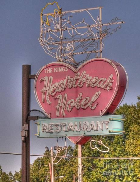 Elvis Photograph - Heartbreak Hotel by David Bearden