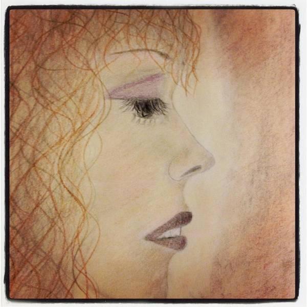 Drawing - Heartbroken by Lora Mercado