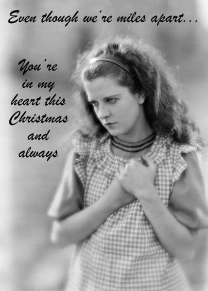 Wall Art - Photograph - A Heartfelt Christmas Greeting Card by Communique Cards
