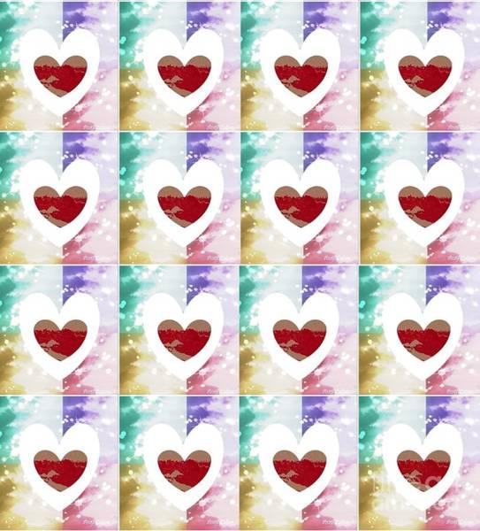 Digital Art - Heartful 2 by Ann Calvo