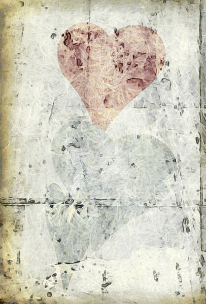Photograph - Hearts 2 by Edward Fielding