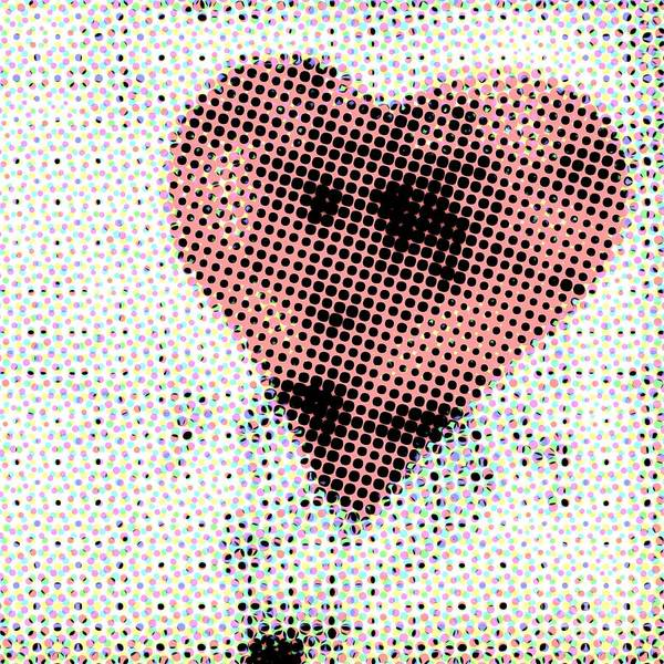 Love Photograph - Hearts 21 Square by Edward Fielding