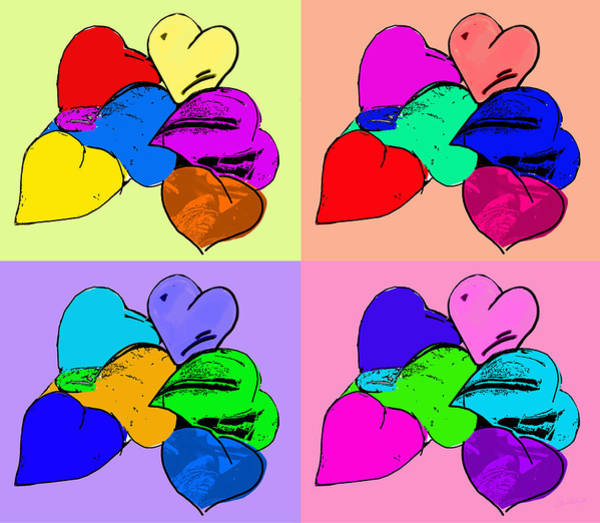 Photograph - Hearts by David Brookwell