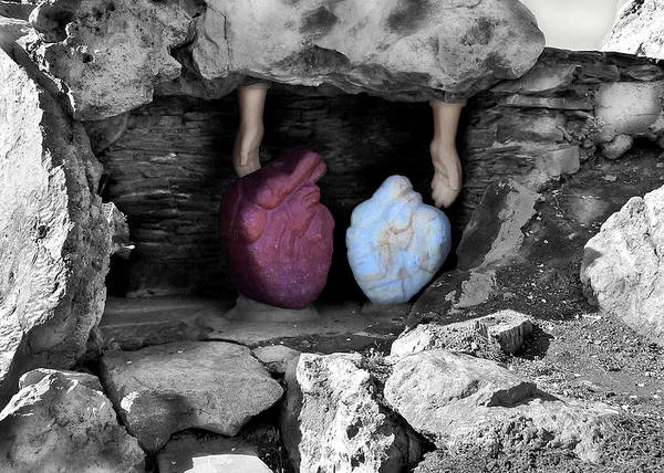 Photograph - Hearts In Malachi Valentine Version by Tarey Potter
