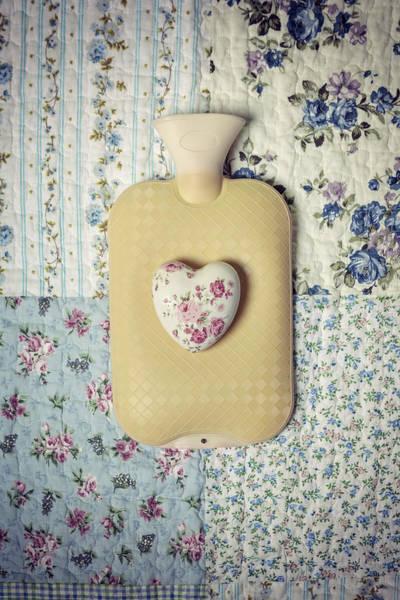 Water Bottle Wall Art - Photograph - Hearty Hot-water Bottle by Joana Kruse