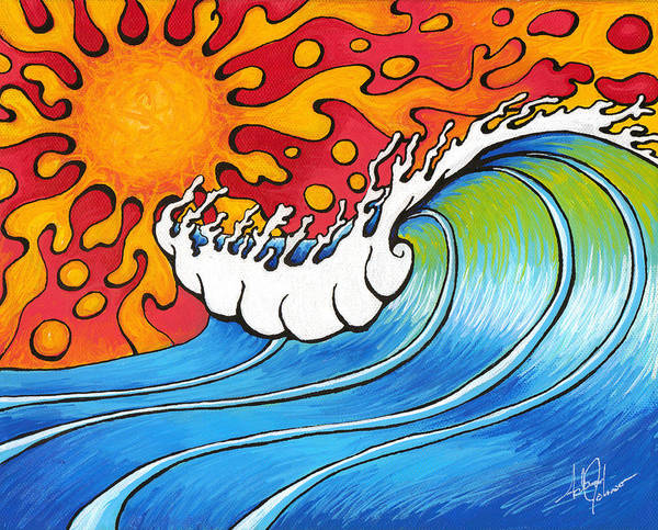 Painting - Heat Wave by Adam Johnson