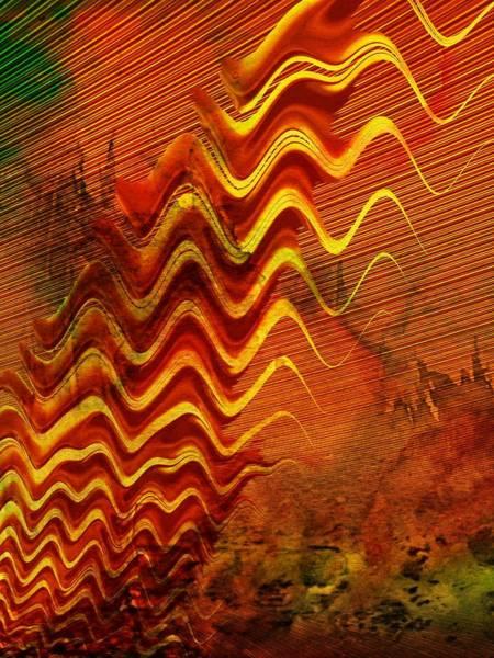 Digital Art - Heat Wave by Amanda Moore