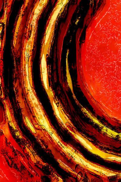 Wall Art - Digital Art - Heat Zone by David G Paul