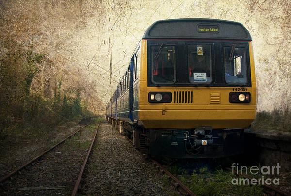 Wall Art - Photograph - Heathfield Old Station  by Rob Hawkins