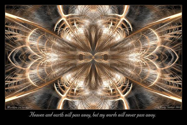 Digital Art - Heaven And Earth by Missy Gainer