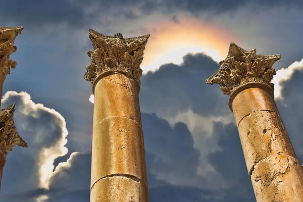 Jerash Photograph - Heaven by David Gleeson