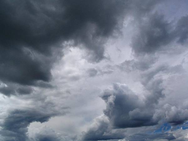 Photograph - Heaven Looks Angry by Vivian Martin