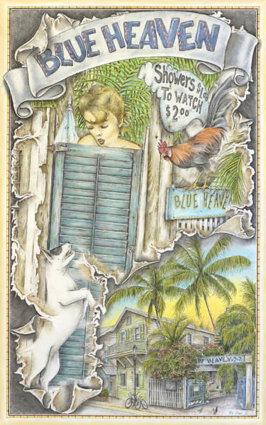 Heaven On A Fork Art Print by Mike Williams