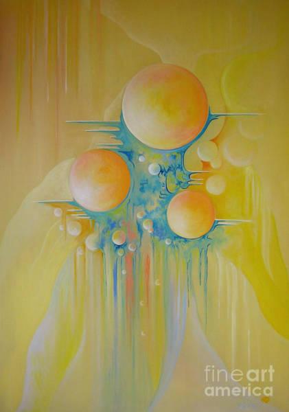 Painting - Heavenly City by Alexa Szlavics