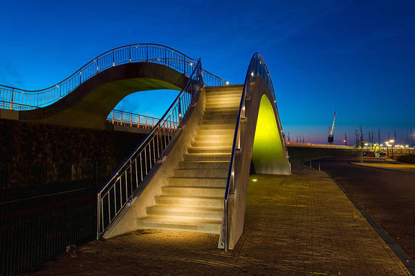 Shore Photograph - Heavenly Stairs by Chad Dutson
