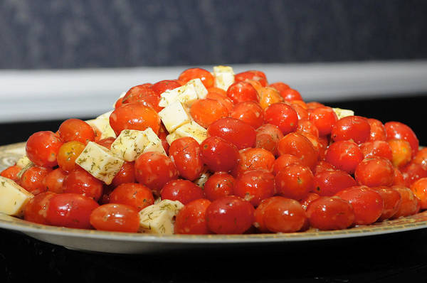 Photograph - Heavenly Tomatoes by DLL Production Co