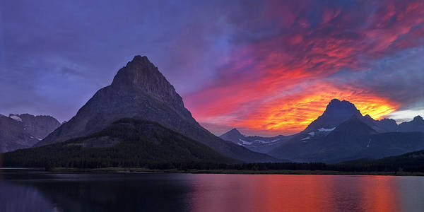 Wall Art - Photograph - Heaven's Ablaze by Andrew Soundarajan