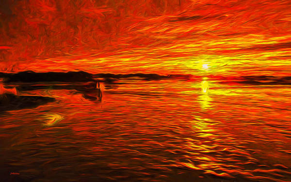Photograph - Heavens Of Fire by John M Bailey